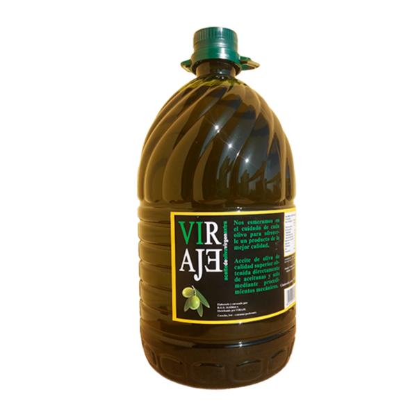 Aceite de oliva Virgen Extra Viraje 5 litros.