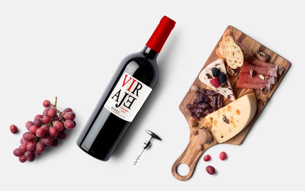 Distribuidora de vino y aceite VIRAJE